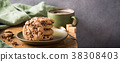 Chocolate chip cookies 38308403