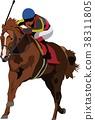 vector, vectors, equine 38311805