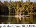 Fishing at the lake 38314096