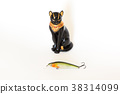 Fishing wobblers and lure on a white background 38314099