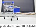 장바구니, 쇼핑카트, 컴퓨터 38314668