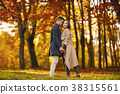 couple in the park 38315561