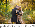 couple in the park 38315579