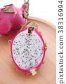 水果 火龍果 熱帶水果 38316994