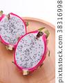 水果 火龍果 熱帶水果 38316998