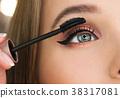 makeup, brush, woman 38317081