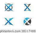 X Letter Logo Template vector 38317488