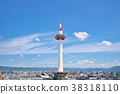 kyoto, tower, clear 38318110