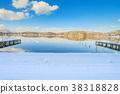 Beautiful fresh snow in winter  38318828