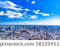 清爽的雲彩·東京城市景觀 38320451