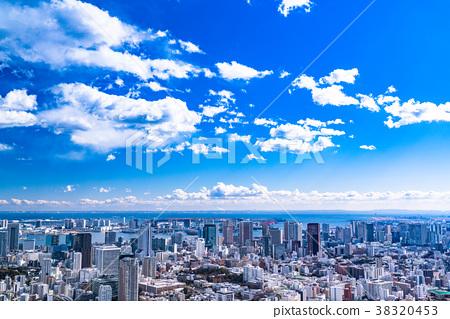 雲彩 雲 城市景觀 38320453