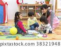 孩子们画画 38321948