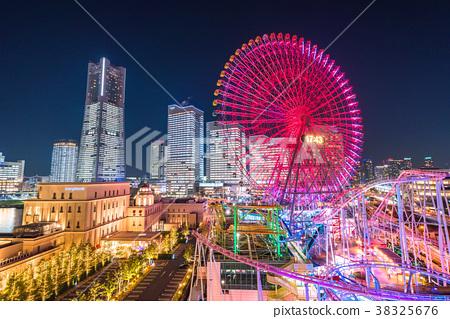 横滨 未來港 夜景 38325676