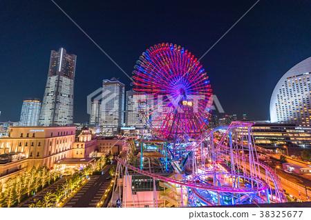 橫濱 未來港 夜景 38325677