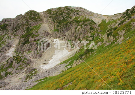 黑部峡谷 北阿尔卑斯 山岳景观 38325771
