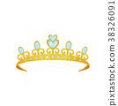 crown tiara vector 38326091