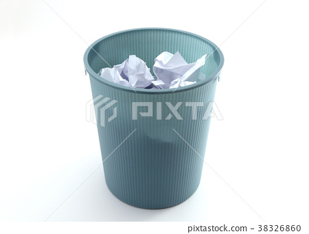 Garbage Can Stock Photo 38326860