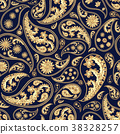 Traditional paisley seamless pattern 38328257