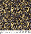 Traditional paisley seamless pattern 38328258