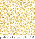 Traditional paisley seamless pattern 38328259