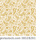 Traditional paisley seamless pattern 38328261