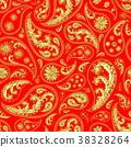 Traditional paisley seamless pattern 38328264