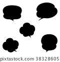 矢量 对话泡泡 喷出 38328605