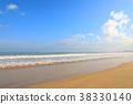 해변, 파도, 바다 38330140