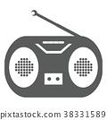矢量 无线电 家用电器 38331589
