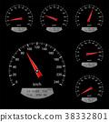vector, meter, gauge 38332801
