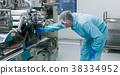 scientist work with machine 38334952