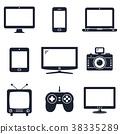 icon, modern, technology 38335289