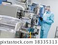 scientist configure machine with shafts 38335313