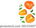 persimmon, half, section 38335697