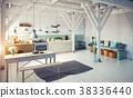 kitchen, interior, room 38336440