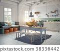 kitchen, interior, room 38336442
