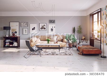 modern living room 38336470