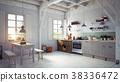 style kitchen interior. 38336472