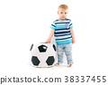 football, ball, boy 38337455