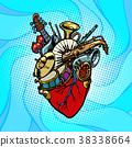 Jazz orchestra musical heart 38338664