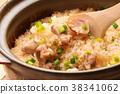 닭고기 밥 밥 38341062