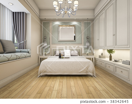 modern luxury classic bedroom vintage built in 38342645
