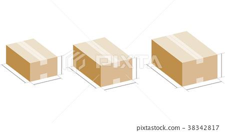 紙箱的外形尺寸 38342817