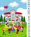 child, school, play 38343803