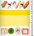 poster design sushi 38344525