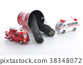 救護車 救火車 消防車 38348072