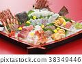 生鱼片 刺身 海鲜 38349446