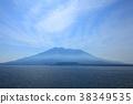 사쿠라지마, 바다, 산 38349535