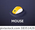 鼠標 老鼠 ICON 38351426