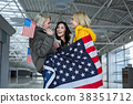 usa flag lady 38351712